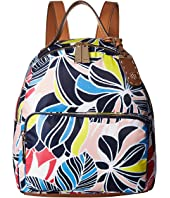 Tommy Hilfiger - Julia Dome Retro Floral Nylon Backpack