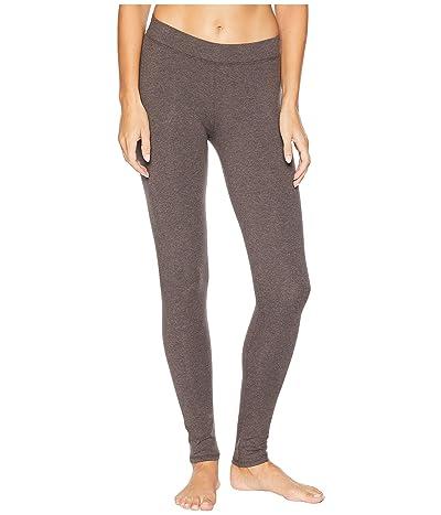 PACT Organic Cotton Long Leggings (Charcoal Heather) Women