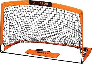 WEKEFON Soccer Goal 5' x 3.1' Portable Soccer Net for...