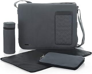 حقيبة لعربات الاطفال للجنسين من ايكو بولو، رمادي - 333365