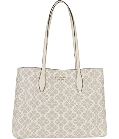Kate Spade New York All Day Spade Flower Coated Canvas Large Tote