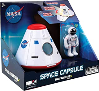 Daron NASA Space Adventure Series: Space Capsule with Lights & Figurine