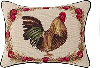 Best needlepoint rooster pillows Reviews