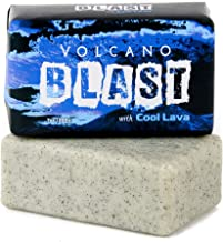 Volcano Blast - Natural Bar Soap, Peppermint-Lime-Champhor, Essential Oil, 7 Oz