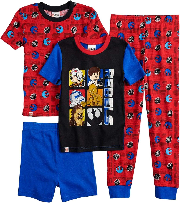 New item Star Wars Boys Award Red Lego Rebellion Sleep Chewbacca Piece Pajama 4