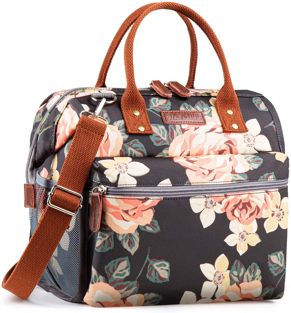 Floral Lunch Bags for Elegant Women Box Coole Insulated Bag Ranking TOP11