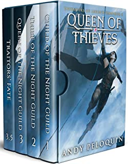 Queen of Thieves: A Grimdark Sword and Sorcery Thief Adventure (Defenders of Legend Box Set Book 3)