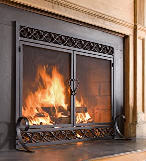 Best 40 tall fireplace screens Reviews