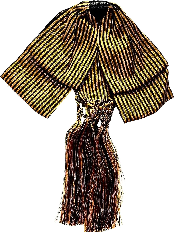 Bow tie charro Mexican party costum Elastic Band estripes Color Gold and Black Fiesta Mexicana