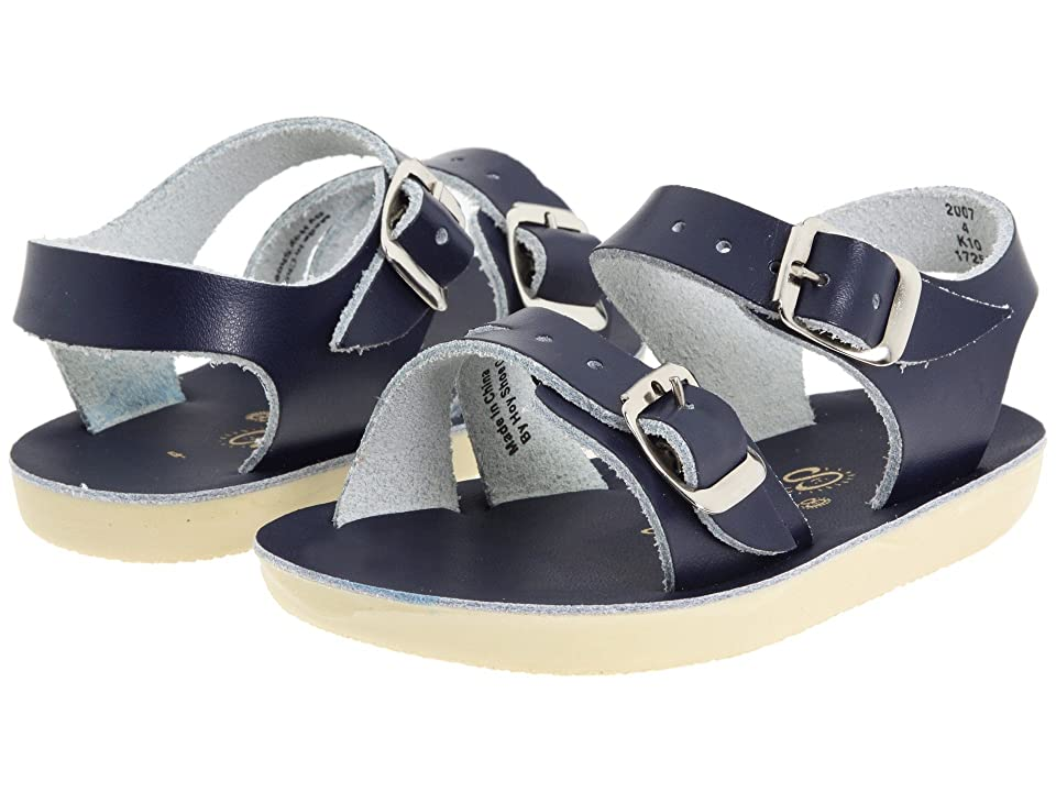 Salt Water Sandal by Hoy Shoes Sun-San Sea Wees (Infant/Toddler) (Blue/Navy) Kids Shoes