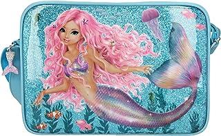 Depesche 11047 TOPModel Fantasy - Umhängetasche im Mermaid Design, mit Reißverschluss und längenverstellbarem Tragegurt, c...