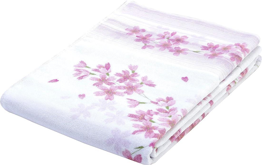 呼びかける侵略マージン西川(Nishikawa) タオルケット ピンク シングル 日本製 洗える 綿100% 裏ガーゼ 1-PM-7948
