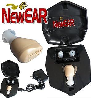 Mini amplificador auditivo NewEar recargable. Tan pequeño