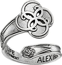 Alex and Ani Spoon Ring Breath of Life