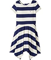 Tommy Hilfiger Kids - Yarn-Dye Handkerchief Dress (Big Kids)