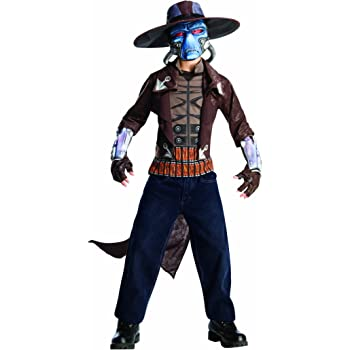 Rubies Star Wars Clone Wars Childs Deluxe Cad Bane Costume and Mask Small 883995