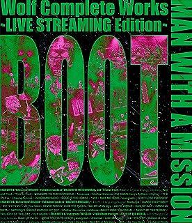 【応援店特典ラバーバンド付き】 Wolf Complete Works LIVE STREAMING Edition BOOT 通常盤 Blu-ray MAN WITH A MISSION