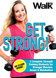 Walk On: Get Strong! 2 Complete, Floor Work Free Strength Training Workouts for Stronger Muscles, Bones and Metabolism with Jessica Smith [DVD]