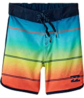 Billabong Kids 73 X Stripe Boardshorts (Big Kids)