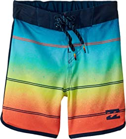 Billabong Kids - 73 X Stripe Boardshorts (Big Kids)