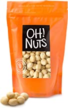 Oh! Nuts Jumbo Raw Macadamia Nuts | Unsalted, & Gluten-Free | All-Natural, Additive-Free Healthy Snack | Large-Sized, No Oil Keto Snacks in Resealable 1-Pound Bag for Extra Freshness