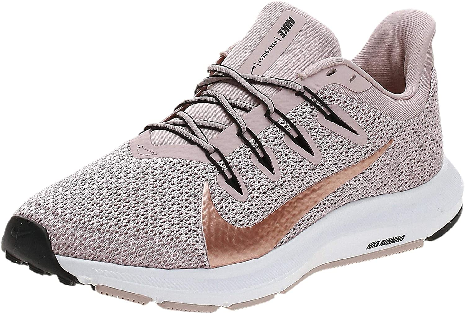 Nike Quest 2 Womens Running Trainers CI3803 Sneakers Shoes (UK 6 US 8.5 EU 40, Stone Mauve red Bronze 200)