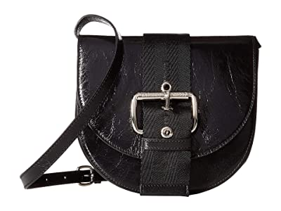 Vivienne Westwood Alex Saddle Bag (Black) Cross Body Handbags