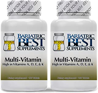 Bariatric ADEK Multivitamins 180ct Tablets - Twin Packs (Twin Packs)