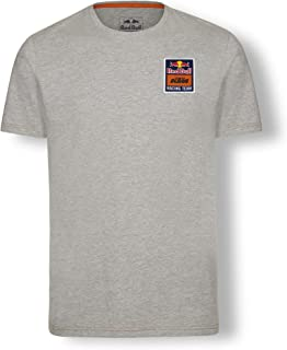 Red Bull KTM Mosaic T Shirt, Grey Mens Tshirt, KTM Factory Racing Original Clothing & Merchandise