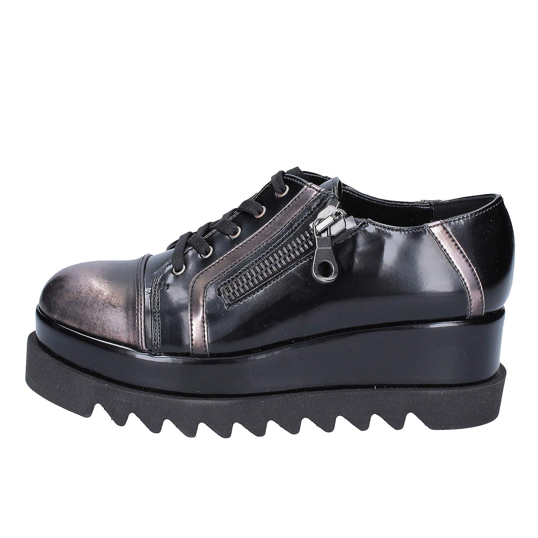 [BOTTEGA LOTTI] 古典的な女性の靴 レディース 合成皮革 ブラック