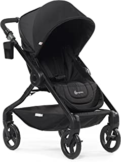 Ergobaby Stroller, Travel System Ready, 180 Reversible with One-Hand Fold, Black