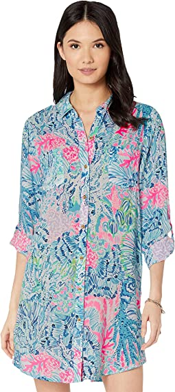cf4e5c836e Multi Sink Or Swim. 45. Lilly Pulitzer. Natalie Cover-Up. $118.00. 5Rated 5  stars out of 5. Black/White. 26