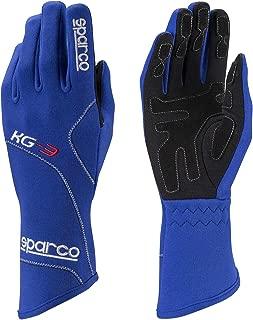 Sparco Blizzard KG-3 Karting Gloves 002541 (Size 6, Blue)
