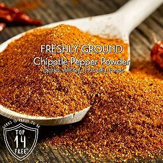 Gerbs Chipotle Pepper Powder 2 Pack (3.75 oz. Shaker Jar) - Top 14 Food Allergen Free - Gourmet Chef Grade