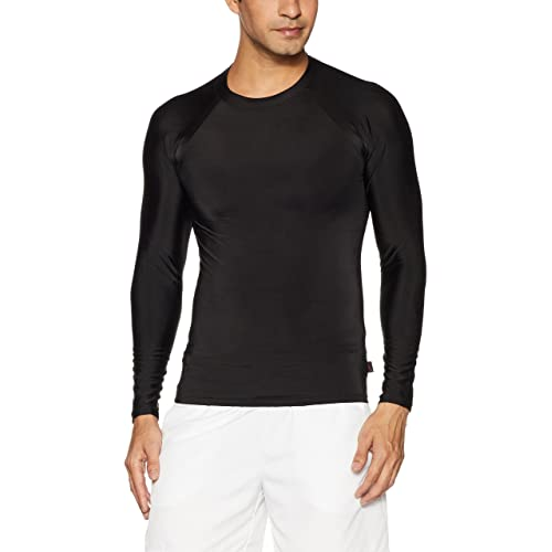 Lycot Compression Top Full Sleeve Plain Athletic Fit Multi Sports Cycling, Cricket, Football, Badminton, Gym, Fitness & Other Outdoor Inner Wear