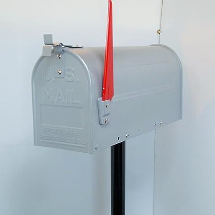 郵便ポスト 郵便受け USメールボックススタンドお洒落なシルバー色ポストpm081