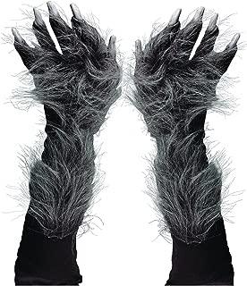 Men's Killer Wolf Gloves (Grey)