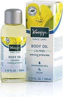 Kneipp Evening Primrose Body Oil for Dry Skin, Skin Calming, 3.38 fl. Oz.