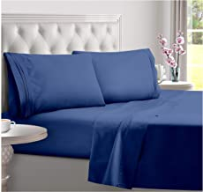H&H Decor Luxurious & Soft 4 pc Sheet Set Long Stapple, 800 TC 100% Pure Egyptian Giza Cotton Sateen Weave, Hotel Linen Be...