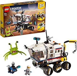 LEGO Creator Space Rover Explorer 31107 Toy for Boys and Girls 8+ years old, 3in1 building set with Astronaut figure (510 ...