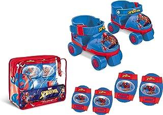 comprar comparacion Spiderman Spiderman-18390 Set de Patines Infantiles con Protecciones, Talla 22 a 29, Multicolor (Mondo 18390)