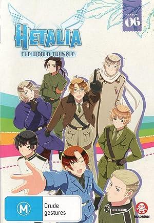 Hetalia:The World Twinkle:シーズン6 (Import版) - ヘタリア The World Twinkle 第6期 コンプリート DVD-BOX (全15話,103分) アニメ [DVD] [Import] [PAL, 再生環境をご確認ください]