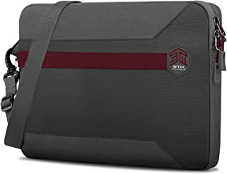 """STM BLAZER Sleeve for up to 16""""/15"""" Laptop - Adjustable Shoulder Strap, Zippered Design, Water Resistant Brief Case for Ap..."""