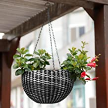 Story@Home Hanging Flower Pot, Plant Containers Basket with Hook Chain for Home Gardener Grower Planter Indoor/Outdoor Dec...
