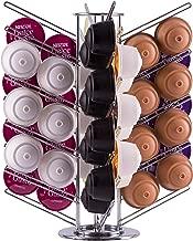 Nespresso Vinsani/® 24 Dolce Gusto Pod Size Chrome Support pour capsules de caf/é rotatif en chrome pour capsules Dolce Gusto Taille unique Tassimo
