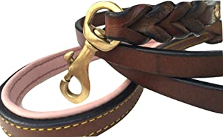 Best soft touch collars leather braided dog leash Reviews