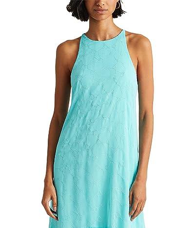 LAUREN Ralph Lauren Eyelet Sleeveless Shift Dress