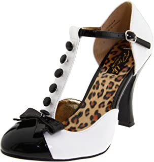 Pinup Couture Women's Smitten-10 D'Orsay Pump