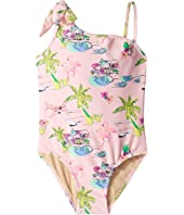 One Shoulder Tiki One-Piece (Infant/Toddler)