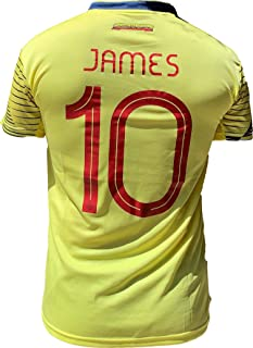 K4NCHA Colombian Soccer Jersey FCF 2020 for Men Printed No 10 James
